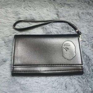 Bape Leather Strap Wallet